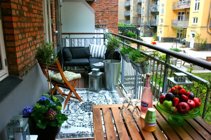 Оформление балкона