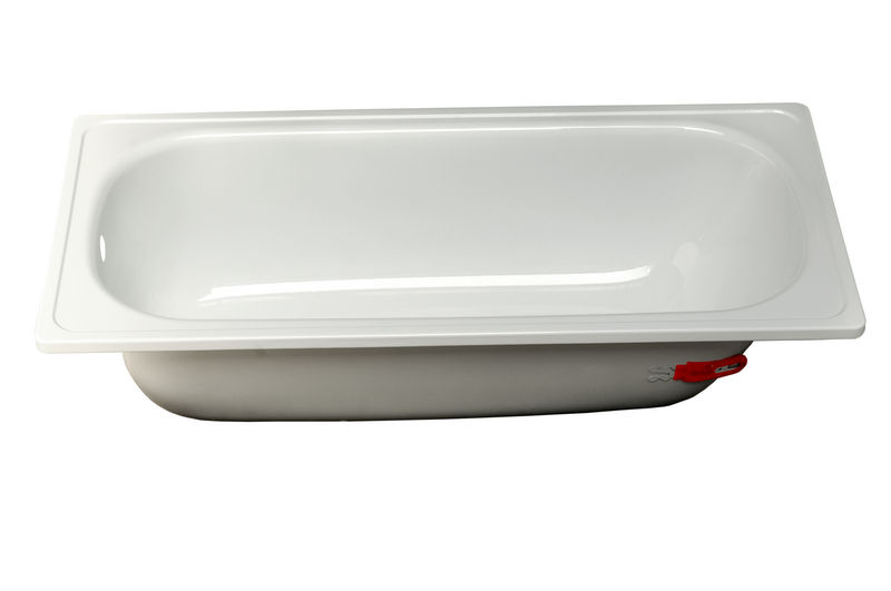 Материал ванны. Стальная ванна