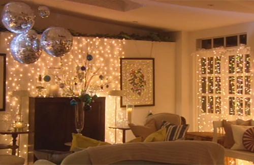 Освещение квартиры к новому году