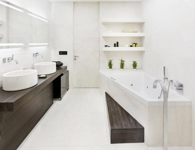 1001 и одна идеи ванной в стиле минимализм