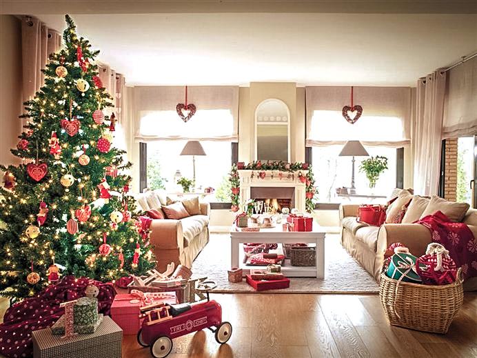 Как просто и красиво украсить квартиру к Новому году - Tehnolend.ru